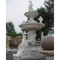 Decorative White Marble Garden Sculptors