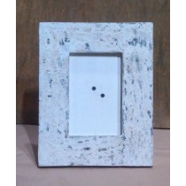 Decorative Wooden Whitewashed Photo Frame