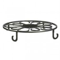 Decorative Wrought Iron Carved Plant Stand