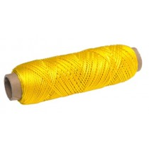 Decorative Yellow Twisted Nylon Twine