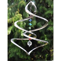 Delicate Design Crystal Hanging Weathervanes