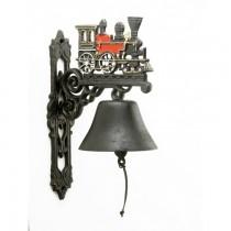 Delicate Design Hand Painted Garden Bell