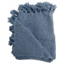 Denim Blue 50 X 70 Inch Throw