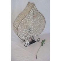 Designed Shiny Finish Table Lamp