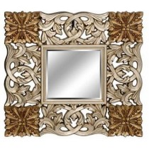 Designer Gold Painted Wall Mirror