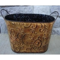Designer Oval 15 Inch Flower Pot Planter