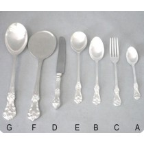 Dessert Fork, C - 7 Inches