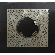 Dotted Square Wall Panel