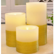 Double Colored LED candle light