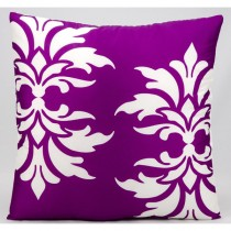 Double Damask Pattern Cushion
