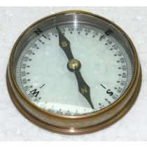 Double Glass Compass, 3 Inches