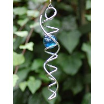 Double Spiral Crystal Hanging Weathervanes