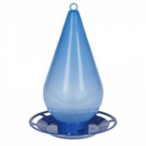 Droplet Shaped Plastic Hanging Bird Feeder