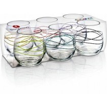 Ducale Stem Curl Glass