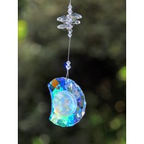 Durable Beaded Healing Moon Crystal Hanging Sun Catcher
