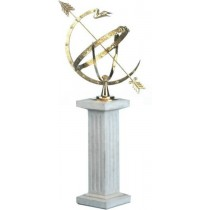 Durable Brass Sundial With Pedestal