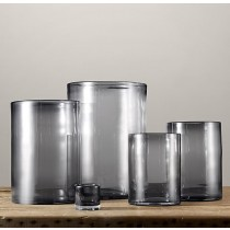 Durable Glass Hurricane Set of 5 Pcs