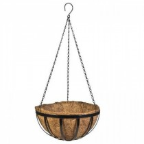 Durable Metal 14 Inch Hanging Basket