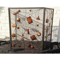 Durable Metal Fire Place Screen