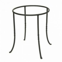 Durable Metal Ring Plant Stand