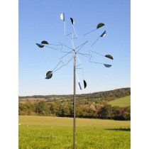 Durable Pinwheel Stainless Steel Weathervanes