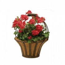 Durable Round Metal Hanging Basket