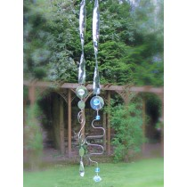 Durable Stainless Steel Ribbon Hanging Sun Catcher