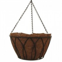 Durable Steel Bucket Hanging Basket