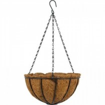 Durable Steel Hanging Basket with Chain