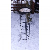 Durable Wrought Iron Bird Feeder