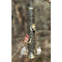 Easy Clean Tube Hanging Bird Feeder