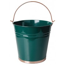 Elegant 13 Inch Height Metal Trash Can