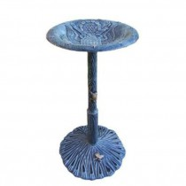 Elegant Design Aluminum Bird Bath