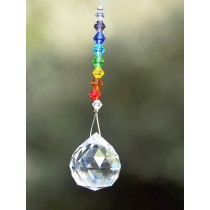 Elegant Design Crystals Hanging Sun Catcher
