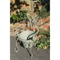 Elegant Design Hand Made Chair Shaped  Iron Planter Stand