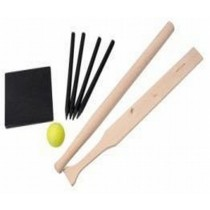 Elegant Design Wooden Quoits Set
