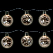 Elegant Disco Ball Clear Light Set
