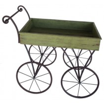 Elegant Metal Frame Wheel Barrow