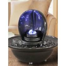 Elegant Open Sphere Led Water Fountain