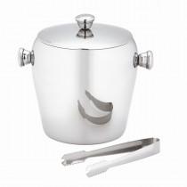 Elegant Stainless Steel Ice Bucket
