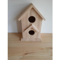 Elegant Style Fir Wood Bird House