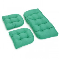 Emerald 3 Piece U Shaped Cushion Set