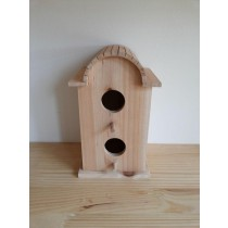 Fashionable Fir Wood Bird House