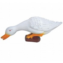 Fiberglass Duck Sculpture Height 8 Inch