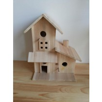 Fir Wood Unique Style Wooden Bird House