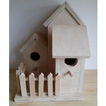 Fir Wood With Plywood Bird House
