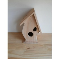 Fir Wooden Bird House 23.3x15x14