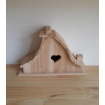 Fir Wooden Unique Style Bird House