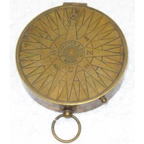 Flat Compass, 3.5 Inches
