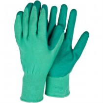 Flexible Green Garden Gloves